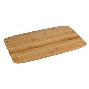 Доска разделочная,  46х28х1,2 см бамбук