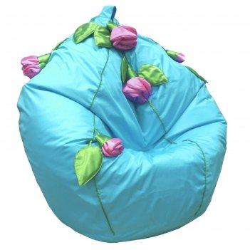 Кресло-мешок розы, ткань нейлон, цвет бирюзовый