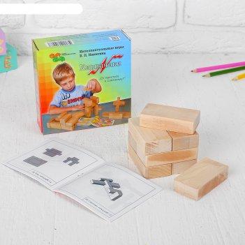 Кубики кирпичики, по методике никитина