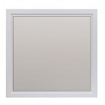 Зеркало прованс 105 белый глянец