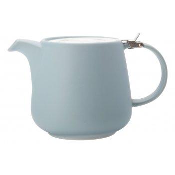 Чайник с ситечком 1.2л оттенки (голубой) в инд.упаковке