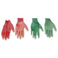Перчатки садовые, р. 9, цвета микс