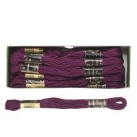 Мулине 10м, (№2005), цвет фиолетовый