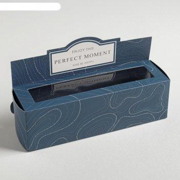 Коробочка для макарун present, 18 х 5,5 х 5,5 см