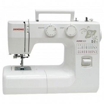 Швейная машина janome juno 523, 23 операций, обметочная, потайная, эластич