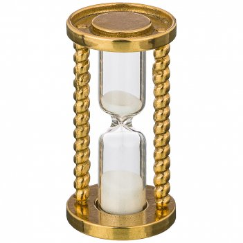 Часы песочные высота 7.5см диаметр 4 см