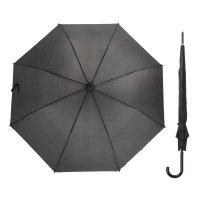 Зонт полуавтоматический «классика», r = 58 см, цвет чёрный