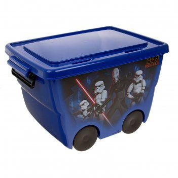 Ящик для игрушек звездные войны синий м 2550-з
