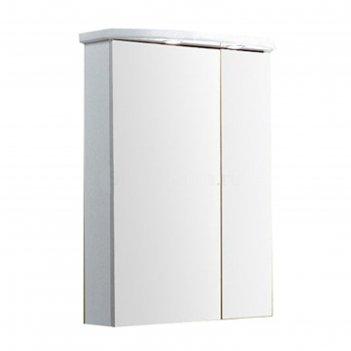 Зеркало со шкафом норма, цвет белый