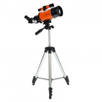 Телескоп настольный 70х300 оранж 54*38см