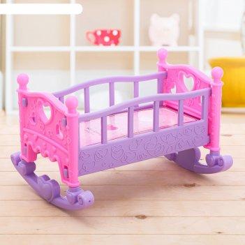 Кроватка для кукол чудесный сон