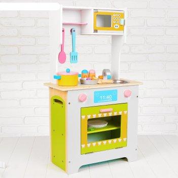 Игровой набор кухня с микроволновкой и этажеркой