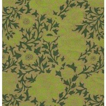 Крафт в рулоне зеленый с рисунком 100см*10м (уп.1/16рул.)