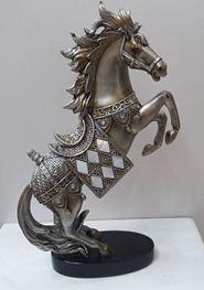 Фигурка декоративная конь 15*6*25см