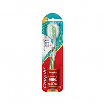 Зубная щетка colgate «шелковые нити», ультрамягкая, 1 шт