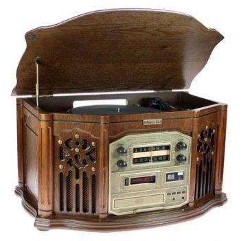 Музыкальный центр-ретро. функции: винил, am/fm, cd, аудио 56