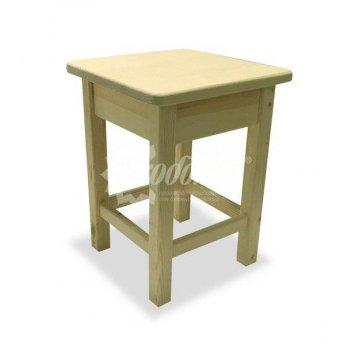 Табурет деревянный «буратино» с окраской