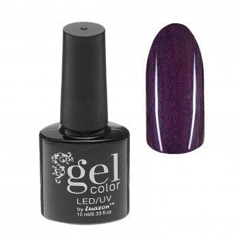 Гель-лак для ногтей, трёхфазный, led/uv, с блёстками, 10мл, цвет 5284-417
