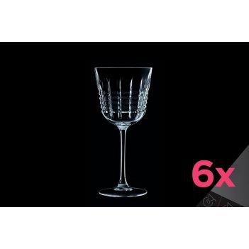 Набор из 6-ти бокалов для вина 350мл rendez-vous cristal d'arques
