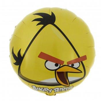 Шар фольгированный  angry birds. желтая а 18 s60 1202-1643