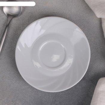 Блюдце 11,5 см белье ф.426 голубка
