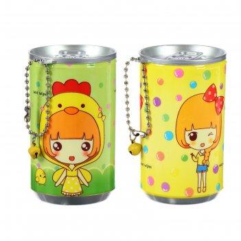 Влажные салфетки для детей девочки в банке 30 шт