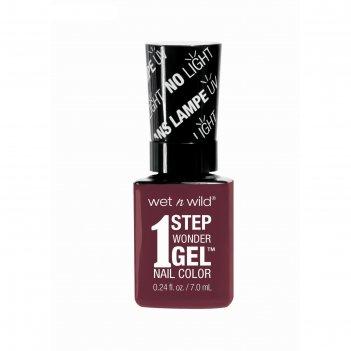 Гель-лак для ногтей wet n wild 1 step wonder gel e7331, тон left marooned,