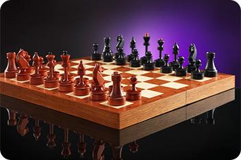 Шахматы пражские мотивы 40х40см
