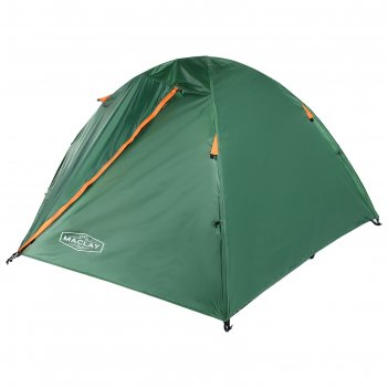 Палатка туристическая root 210х210х110 см, 2-х местная, цвет зеленый