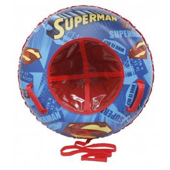 1toy wb супермен, тюбинг - надувные сани,резин.автокамера, материал глянце