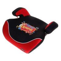 Бустер автомобильный трон царя, группа 2,3 (15-36 кг), цвет черно-красный