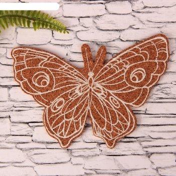 Декор для творчества бабочка с нанесением