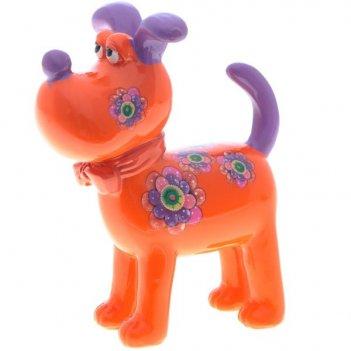 Декоративная фигурка собака, l 9,5, w 5,5, h11,5 см
