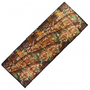 Коврик туристический складной, 200 х 75 х 1 см, цвет лес
