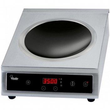 Плита viatto va-350b-a wok, индукционная, 3500 квт, 1 конфорка, 10 режимов