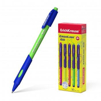 Ручка шариковая ultra glide ergoline kids, эргономичный грип, узел 0.7 мм,