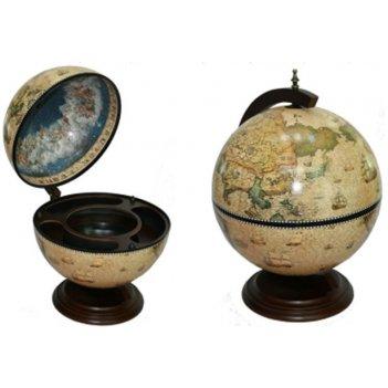Глобус бар brigant сокровища древнего мира настольный d=42см, 41*41*56см