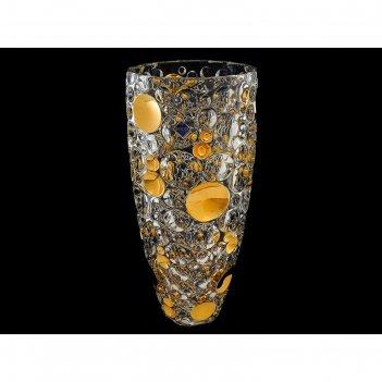 Ваза 35 см lisboa «золото»
