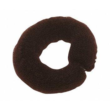 Валик длинный коричневый, сетка с фиксатором dewal ho-5102 brown