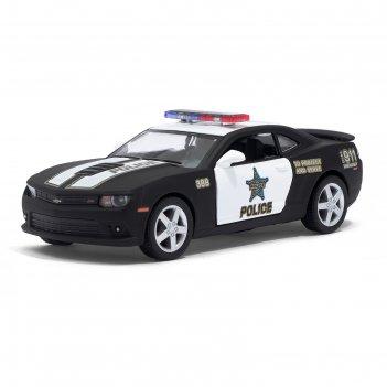 Машина металлическая chevrolet camaro (police), масштаб 1:38, открываются