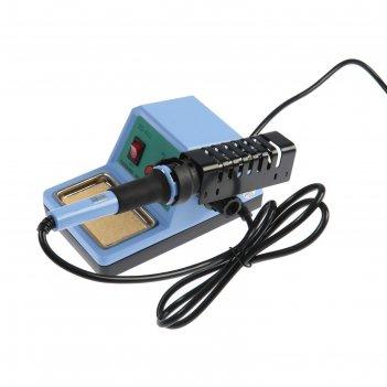 Паяльная станция zhongdi zd-932, регулировка температуры, кнопка вкл/выкл,