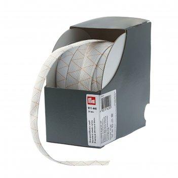 Стандартная эластичная лента плетеная 20 мм*25м, цвет белый