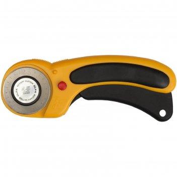 Нож olfa ol-rty-2/dx, с круговым лезвием, с пистолетной рукояткой, фиксато