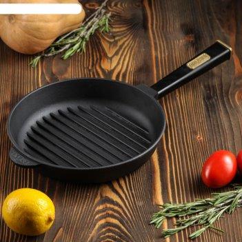 Сковорода чугунная оптима-black, 240 х 40 мм, тм brizoll