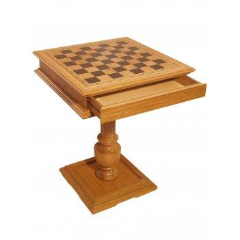 Шахматный стол эксклюзив, светлый