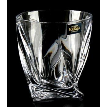 Набор стаканов квадро прозрачный 340 мл.
