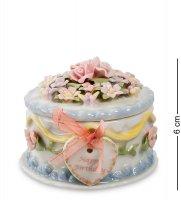 Cms-33/44 шкатулка праздничный торт (pavone)