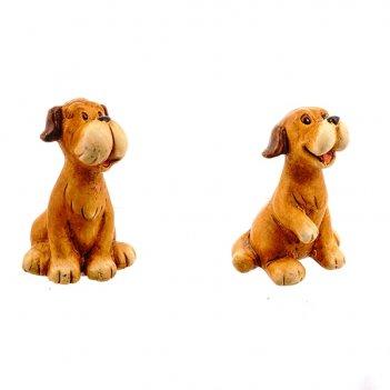 Фигурка декоративная собака, 6x5.5x8 см, 2в. (без инд.упаков...