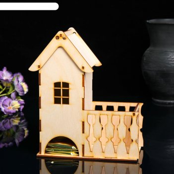 Чайный домик дом с балконом