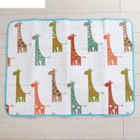 Коврик детский на фольгированной основе «весёлые жирафики», размер 120х90